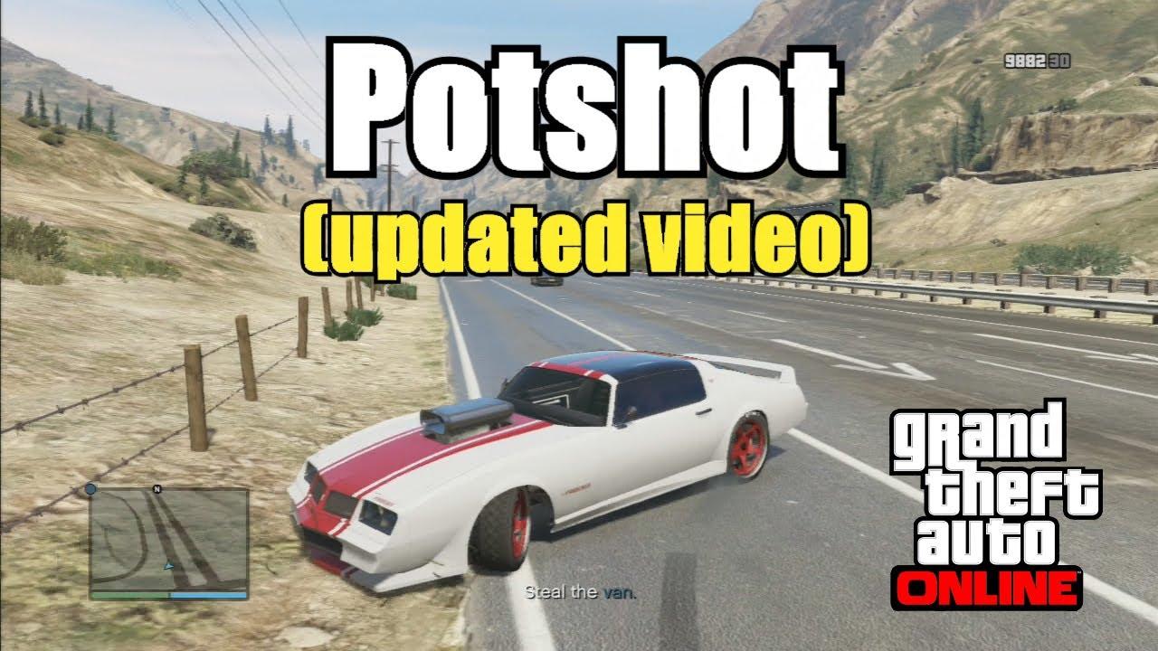 GTA V Online - Potshot Mission - UPDATED Video - No glitch ...