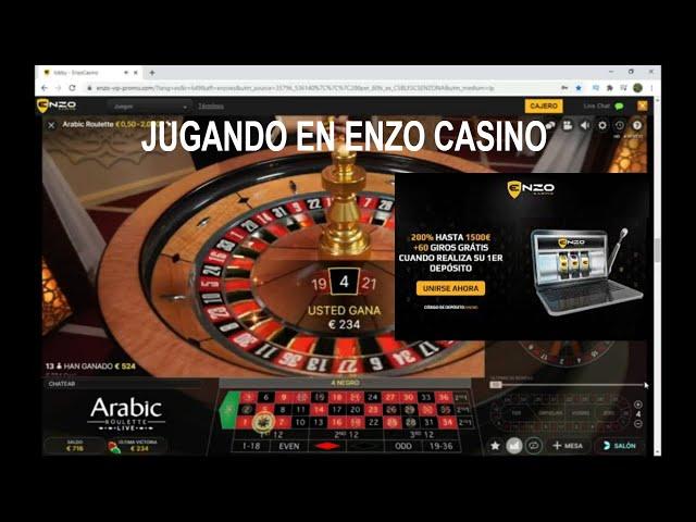 Jugando a las Frecuencias Recurrentes en ENZO CASINO 🔥 Ruleta Europea 500€ a 700€