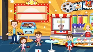 MY TOWN: CINEMA | An Exciting Trip To The Cinema (Kids App By My Town Games)
