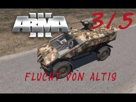 Arma3 Flucht von Altis CO-OP Mission [3/5] Fuck ein Panzer [German] [HD] Let´s Play