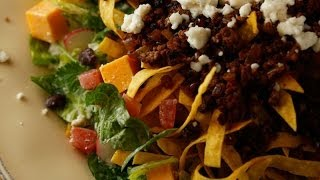 Guy Fieri's Warm Taco Salad With Spicy, Smoky Ranch