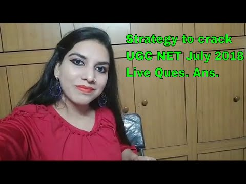 CBSE Ugc Net Preparation Strategy Ask Questions | in Hindi