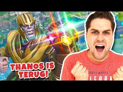 Thanos Is Terug Met Een Giga Leger Erbij! 😱 - Fortnite EndGame LTM