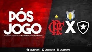 Pós jogo Flamengo x Botafogo, vergonha no primeiro tempo