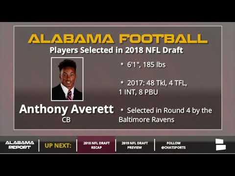 Recap of Alabama Football Players Selected in 2018 NFL Draft