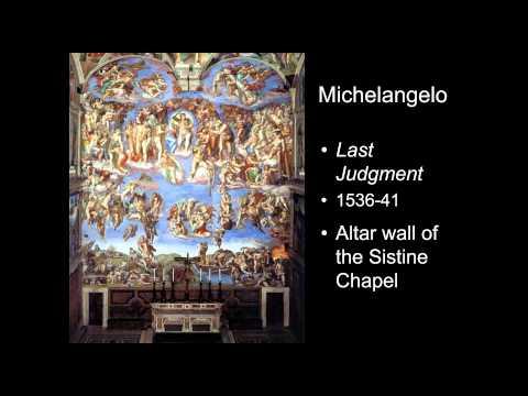 ARTH 2020/4037 Michelangelo 2 (Mannerism)