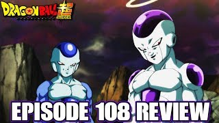 Dragon Ball Super Episode 108 Review Frieza And Frost! Conjoined Malice?!