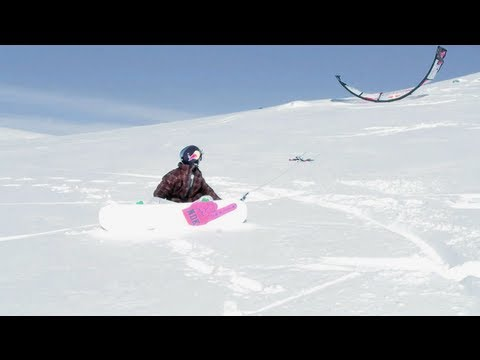 On The Loose - Snowkiting in Norway - Episode 6