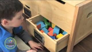 Toy Box Chest Childrens Furniture Kidkraft 14192