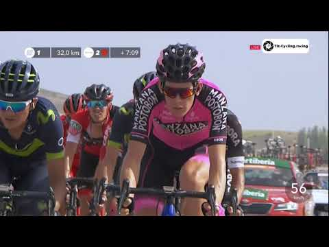 Volta da Espanha 2017 - stage 7 quilômetros finais - La Vuelta a España