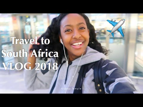 TRAVEL TO SOUTH AFRICA | STEPPING OUT OF YOUR COMFORT ZONE | AIRPORT VLOG 2018