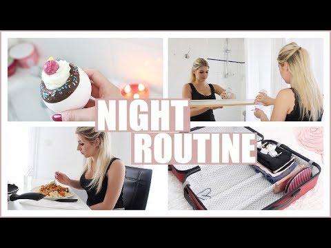 Night Routine 🌙 Veille de départ à Londres! - YouTube