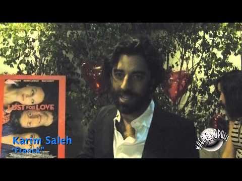 Lust for Love Premiere - Karim Saleh (Franck) Interview