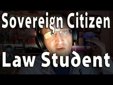 Lawyer BAFFLED By INSANE Lawsuit From Sovereign Citizen Law School Applicant
