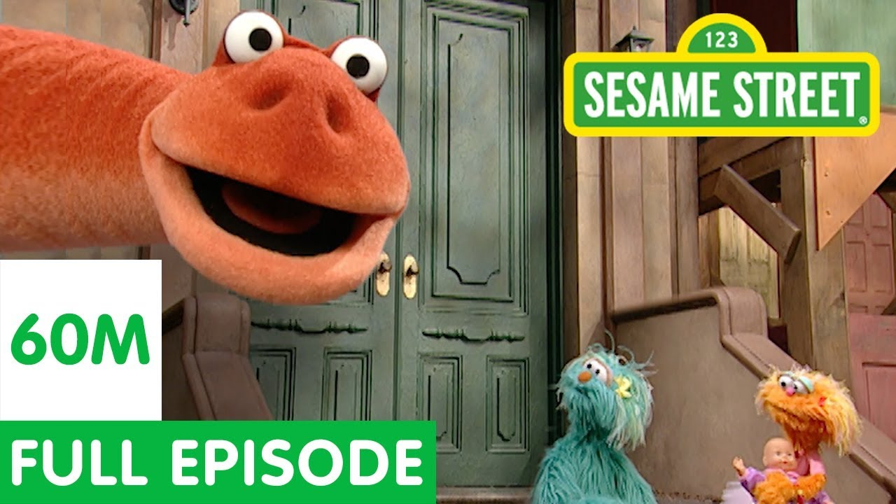 Dinosaur on Sesame Street   Sesame Street Full Episode