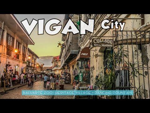 Vigan City Ilocos Sur / Baluarte Zoo / Heritage Village Ilocos Tour Series 7