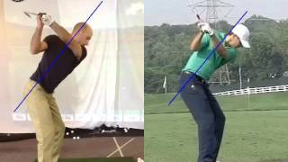 Lesson: spine angle thru impact