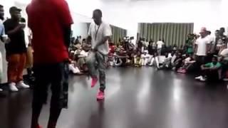Tevin (2LiveCrew) vs Ben (BHG) Memphis Jookin