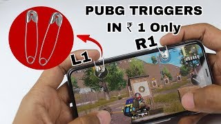 make PUBG Triggers with SAFETY PIN in a Minute | DIY