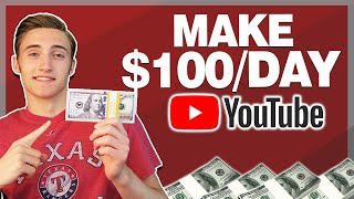 How To Make $100/Day On Youtube WITHOUT Making Videos (Easy In 2019) - Make Money On Youtube FAST