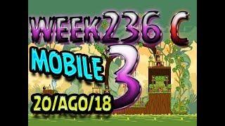 Angry Birds Friends Tournament Level 3 Week 326-C  MOBILE Highscore POWER-UP walkthrough