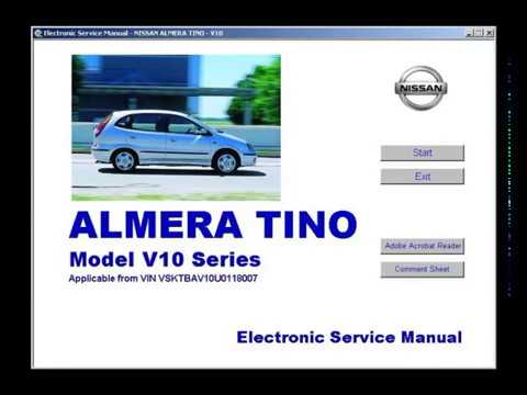nissan almera tino workshop service repair manual youtube rh youtube com nissan almera workshop manual pdf nissan almera workshop manual