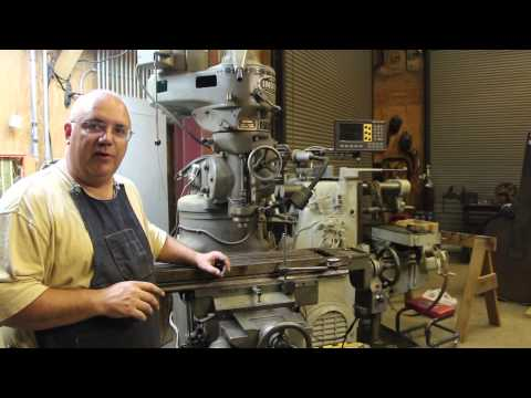 Milling Machine Maintenance:  Adjusting Gibs and Ways