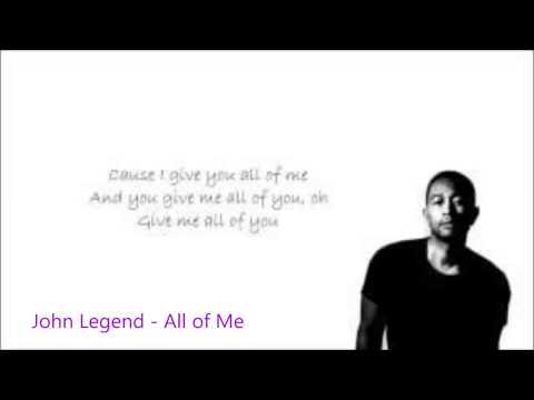 John Legend All Of Me [free mp3]