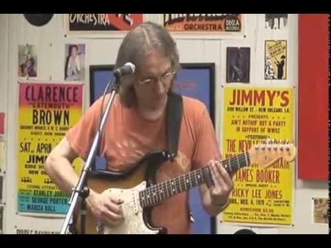 Sonny Landreth @ Louisiana Music Factory - Special Appearance - PT 1