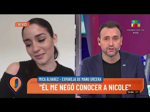 Mica Alvarez, la ex de Juan Manuel Urcera el nuevo novio de Nicole Neuman