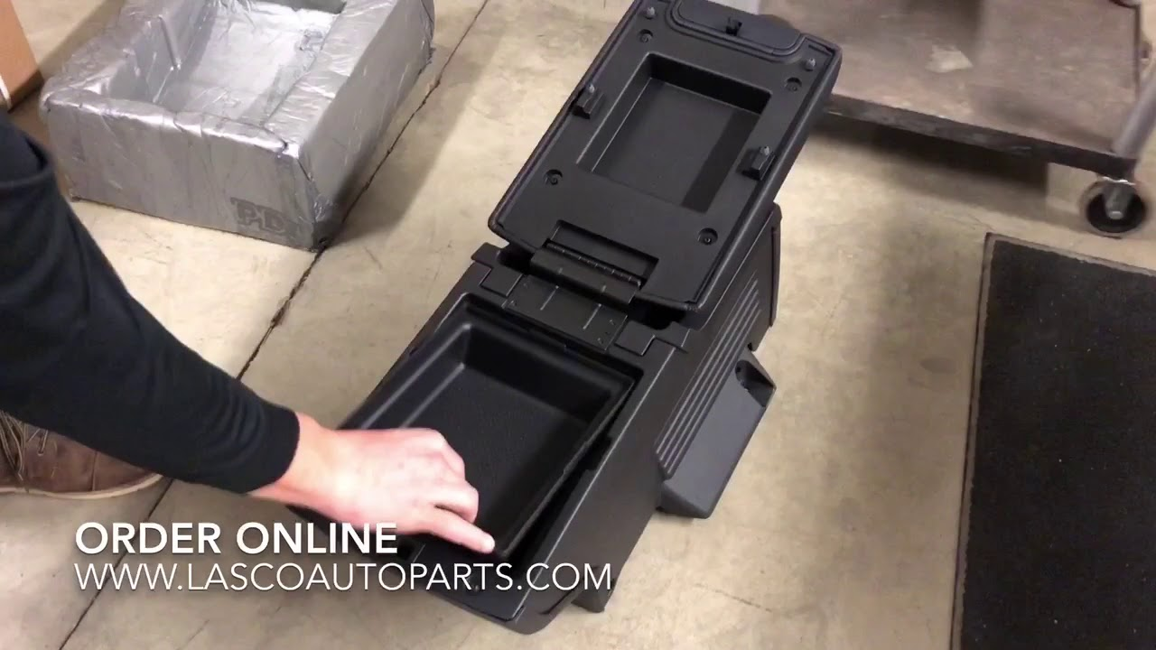 Ford Explorer 2nd Row Center Console   GB5Z-78045A36-AB   2016   2017   2018   Sport - YouTube