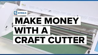 Make Money with Your Craft Cutter using HTV | Craft Corner