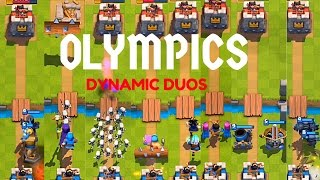 Clash royale 2v2 olympics | who's the best pair ?