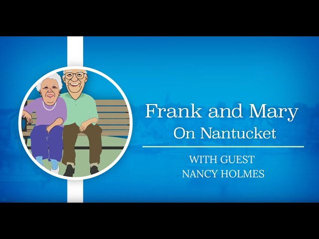 Frank and Mary with guest Nancy Holmes