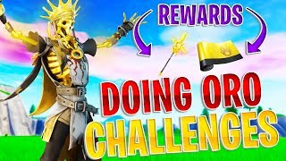 🔴 NEW *FREE* ORO SKIN REWARDS! ~ FORTNITE