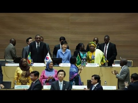 South Korea President meets with African Union