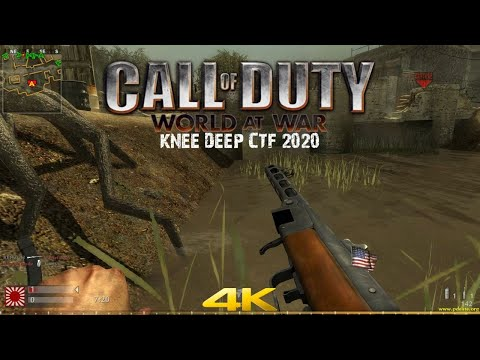 Call Of Duty World At War Multiplayer 2020 Knee Deep CTF 4K