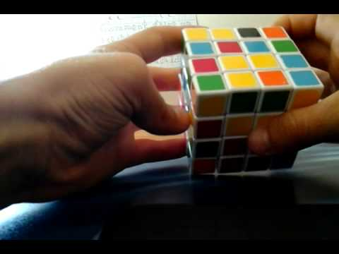 comment faire un rubik 39 s cube 4x4 1ere partie youtube. Black Bedroom Furniture Sets. Home Design Ideas