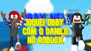 I did Parkour at Roblox along with Danilo 🏃‍♂️➡ MEGA OBBY