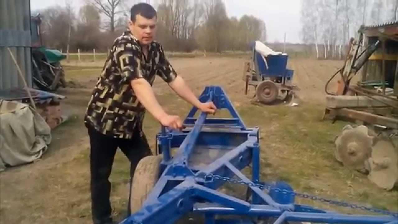 Плуг б/у Bomet трехкорпусный 3x35 minitrak.com.ua - YouTube