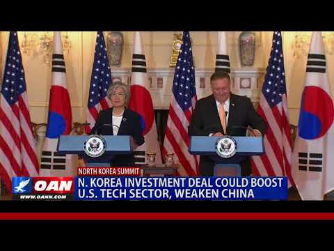 North Korea Investment Deal Could Boost U.S. Tech Sector, Weaken China