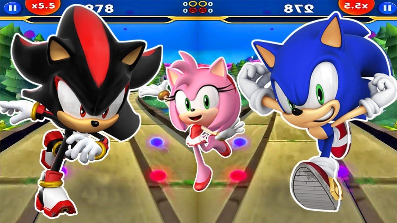 Sonic Dash 2 - Juegos Para Niños - Nuevos Personajes Sonic, Shadow, Tails y Amy
