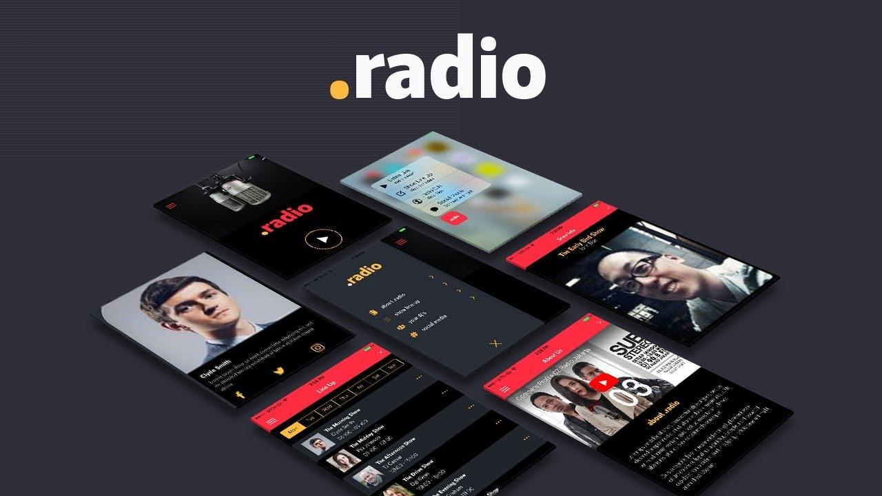 radio full ionic 3 template youtube