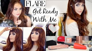 Get Ready With Me for FLARE Magazine | 70