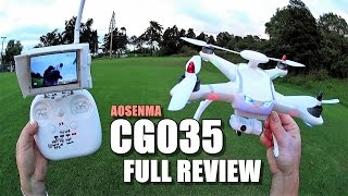 AOSENMA CG035 - Full Review - [Unbox / Setup / Flight Test / Pros & Cons]