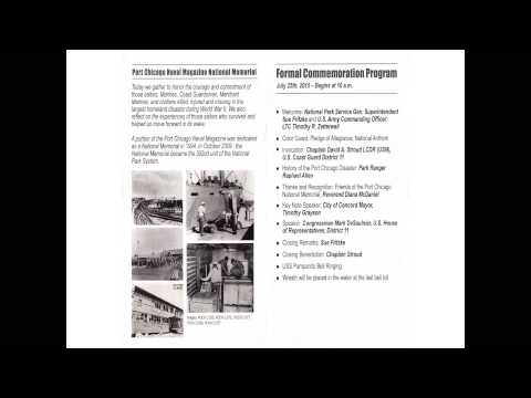 Port Chicago Disaster Memorial 2015 Introduction