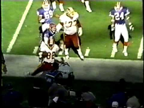 1999 Redskins Plays from Loss 3 vs  Buffalo Bills