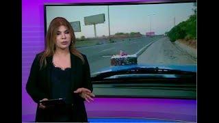 عيد ميلاد حفرة على طريق سريع في لبنان يؤدي لردمها