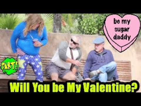 Funny Wet Fart Prank With The Sharter | Tracy | Will You Be My Valentine?