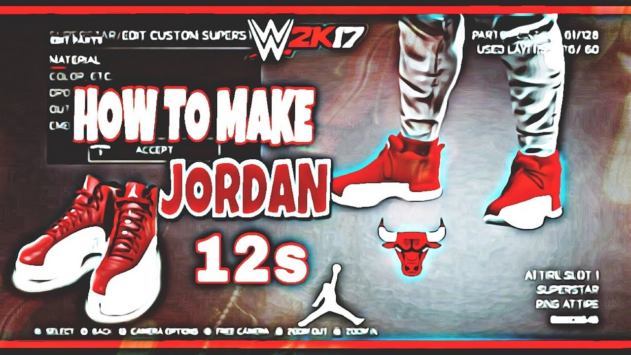 WWE 2K17 HOW TO MAKE